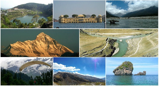 Top 10 Adventure Destinations in India